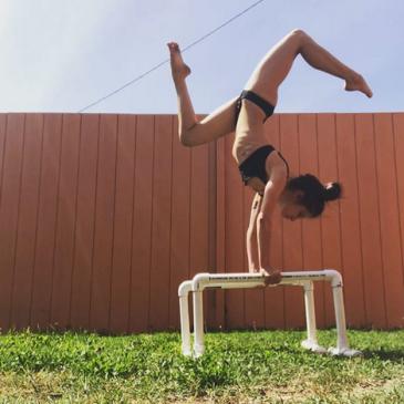Bars handstand
